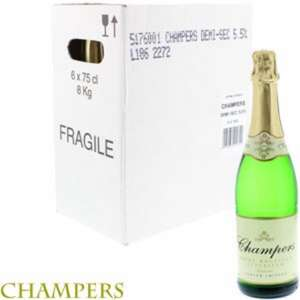 ABSOLUTE BARGAIN ALERT Champers Poiré Mousseux Superieur (Case of 6 Bottles) £1.99 a bottle!! Get Christmas and New Year SORTED!