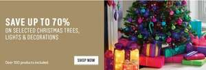 Upto 70% Off on Christmas trees, lights and decorations (Use Code to add 25% discount) @ Argos