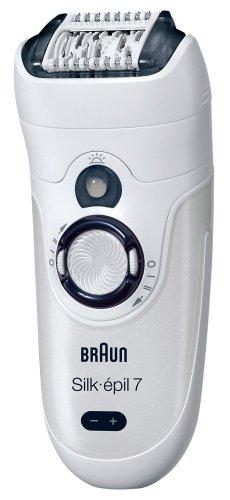 Braun Silk-épil 7 Wet and Dry Cordless Epilator with 2 Attachments £41.50 @ Amazon