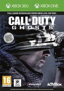 Call of Duty Ghosts Gold Edition  Xbox One & Xbox 360 Digital Combo £9.99 @ Amazon
