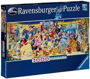 Deals on selected puzzles from Ravensburger, Disney, Gibsons++ @ Amazon (Free delivery on Spend £10+ / Prime)