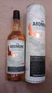 Tesco: ardmore legacy highland single malt whisky 70cl £20 at Tesco