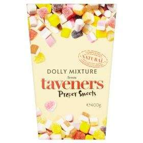 Taveners 'Proper Sweets' Dolly Mixtures - 400g carton only £1 @ Asda