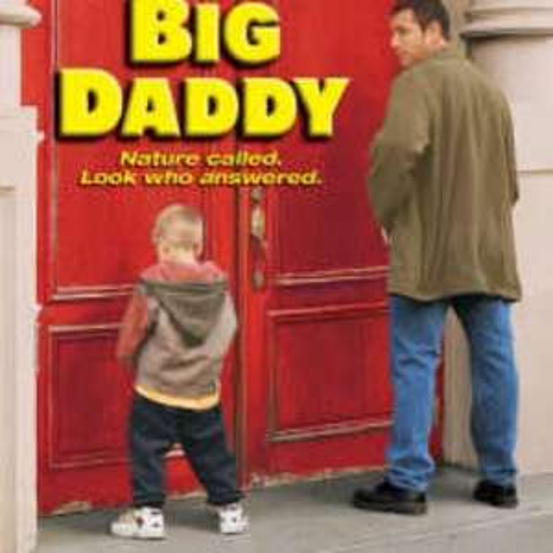 Big Daddy Movie DVD £4.99 & FREE Delivery! @ Zavvi