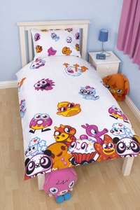 Moshi Monsters Moshlings Single Rotary Duvet Set was £15.99 now £8.75 - revisable - amazon free delivery with prime or orders over £10