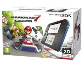 Nintendo 2DS with Mario Kart + Case £99.99 @ Game