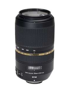 Tamron SP AF 70-300 F/4-5.6 Di VC USD Lens for Nikon or canon - £239 @ Amazon