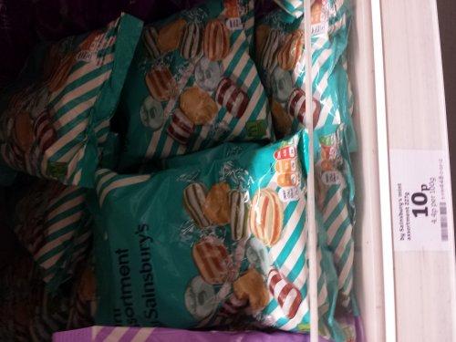 Sainsburys Mint Assortment 200g bag for 10p