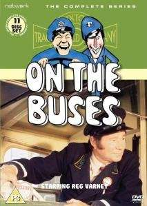 On The Buses Completed Series DVD £20.69 Using First Order Code WELCOME @ Zavvi