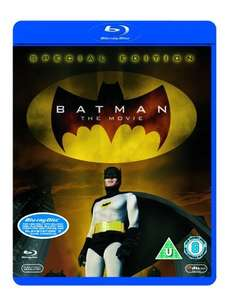 Original batman movie [Blu-ray] from the 60's £6.20 @ Amazon   (free delivery £10 spend/prime)