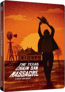 The Texas Chain Saw Massacre - 40th Anniversary Limited Edition Steelbook - Blu-ray - £12.99 @ HMV