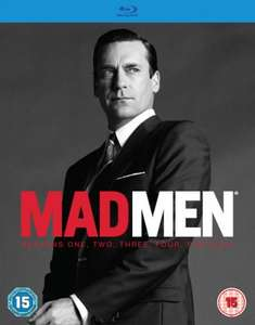 Mad Men - Seasons 1-6 Blu-ray £49.99 / £44.99(Using Code) Delivered @ Zavvi