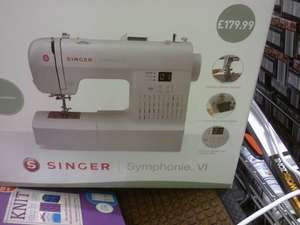 Singer Symphonie VI Sewing Machine - Was £179 NOW £90 (or £75.55 today) @ ALDI