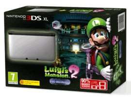 Nintendo 3DS XL Silver with Luigi's Mansion 2 + Pokemon OR/AS + Pokemon Folio Kit £179.99 @ Game