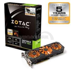 Zotac GeForce GTX 780Ti OC Graphics Card with free game (choose from Far Cry 4, The Crew, Assassin's Creed Unity + a free mouse mat) £289.99 or £299.59 delivered @ overclockers