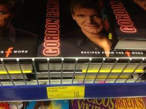 Gordon ramsay cook book 10p @ B&M