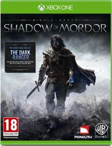 Middle-Earth: Shadow of Mordor Xbox One/PS4 £28 @ Amazon