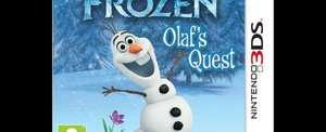 Disney Frozen Olaf's Quest 3DS - Tesco - £15 Free C&C or Delivery
