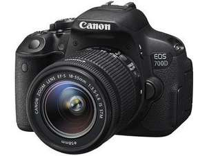 Canon EOS 700D Digital SLR with 18-55mm IS STM Lens Kit at Askdirect £529 (£429 after cashback) + Extra's