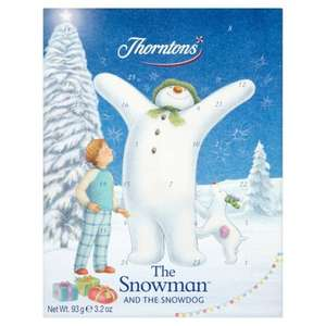 93g Thorntons The Snowman And The Snowdog Advent Calender £1 @ ASDA