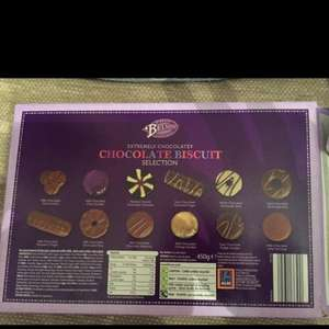 Belmont Extremely Chocolatey Chocolate Biscuit Selection 450g £2.50 @ ALDI
