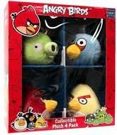 Box of 4 Angry Bird Plush Toys £1 @ B&M