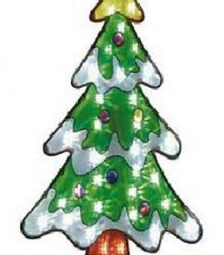 Christmas tree silhouette £9.99 argos ebay
