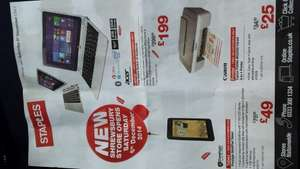 Great deals at new Staples