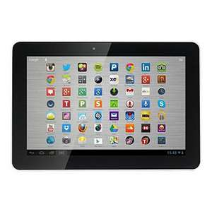 "Hannspree HANNSpad SN1AT71W 16 GB 10.1"" Android Tablet White £53.10 @ Asda"