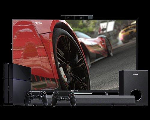 "PS4 + 55"" W8 3D TV + Extra Controller + PS camera + 2.1ch Soundbar for £1149 at Sony"