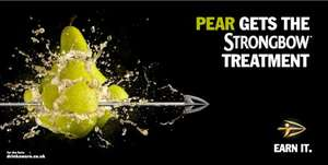 Strongbow Pear Cider Box of 10 cans - £6.50 at the Co-Op