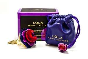 Marc Jacobs Lola  Solid  Perfume Ring £6.50 instore at The Fragrance Store or FREE with O2 Priority Moments