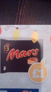 Mars bars 3 pack 2 for £1 @ Pak Supermarket
