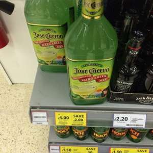 Jose Cuervo margarita mix reduced to £4 @ Tesco