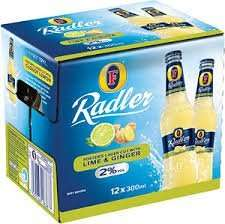 Fosters Radler Ginger + Lime Lager 12 x 300ml Now Only £3.00 In Home Bargains In Store Only = 25p A Bottle!