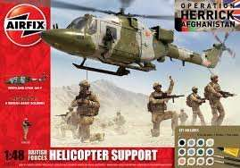 AIRFIX British Forces Helicopter Support Gift Set 1:48 £16.99 (Save £23.00) (£21.97 Delivered) @ Airfix