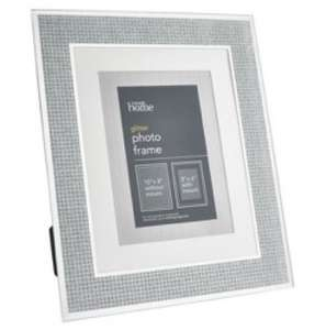 "Large 10"" x 8"" glitter silver photo frame £3 @ Asda in store"