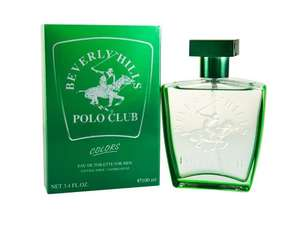 Beverly Hills Polo Green Colours Men 100ml Spray  £4.00 @ Amazon add on item