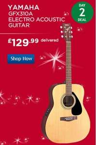 yamaha electro acoustic gfx310a guitar £129.99 delivered at Costco