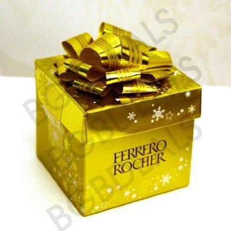 Ferrero Rocher Xmas Gift Box -6 piece 75g £1 @ Home Bargains