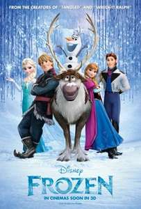 Frozen Sing-Along - Movies For Juniors - Cineworld Newport Wales - Sunday 14th December 10am £1.50