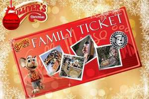 Gullivers theme park family ticket only £35 @ Wowcher
