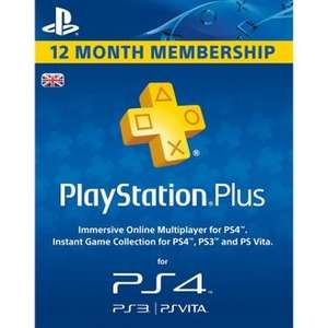Playstation Plus 12 Month Membership and thumb grips £34.70 (with code) or £32.84 with Mario Kart 7 Wheel (3DS) @ Rakuten (ShopTo)