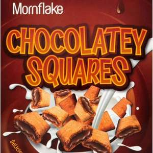 Mornflake chocolatey squares cereal. 500g £1 morrisons