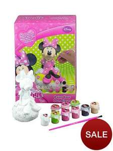 Minnie Mouse paint your own figure 2 for £5, glitch @ very