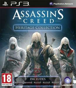 Assassins Creed Heritage Collection (PS3) £14 @ Tesco Direct with TD-FRTW + 1.5% Quidco