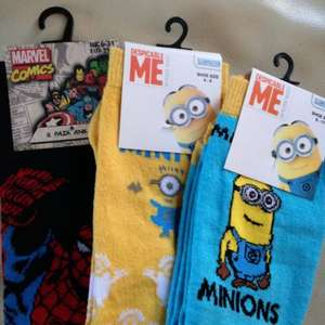 Character socks - £1 @ Poundworld