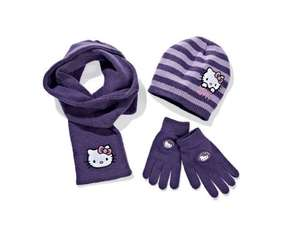Kids' Character Knitted Set (Hat, Gloves and Scarf) at LIDL £4.99 from 15th