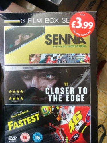Senna, Closer to the Edge, Fastest. 3 Dvd boxset. £3.99 @ Aldi