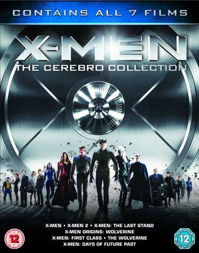 X Men Cerebro 7 movie Blu Ray collection £23.99 @ Amazon (£18.99 with MasterCard code)